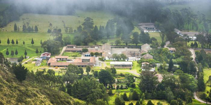 Hacienda Zuleta farmhouse, Ecuador