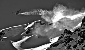 heli-skiing Andes