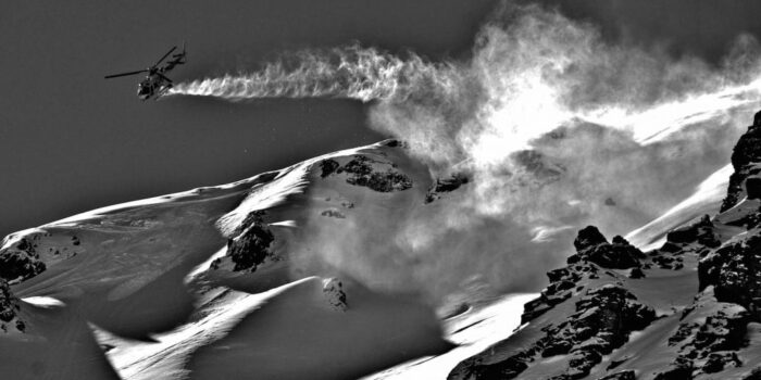 heli-skiing Andes