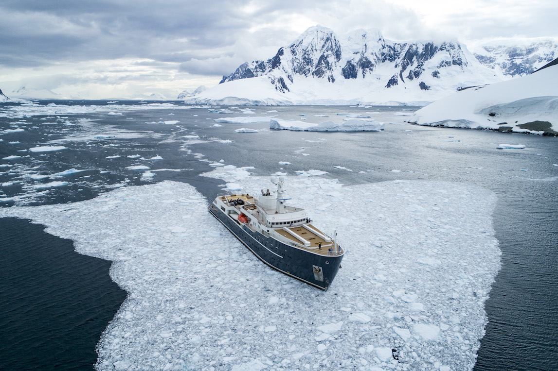 Charter A Cabin On A Private Super Yacht In Antarctica