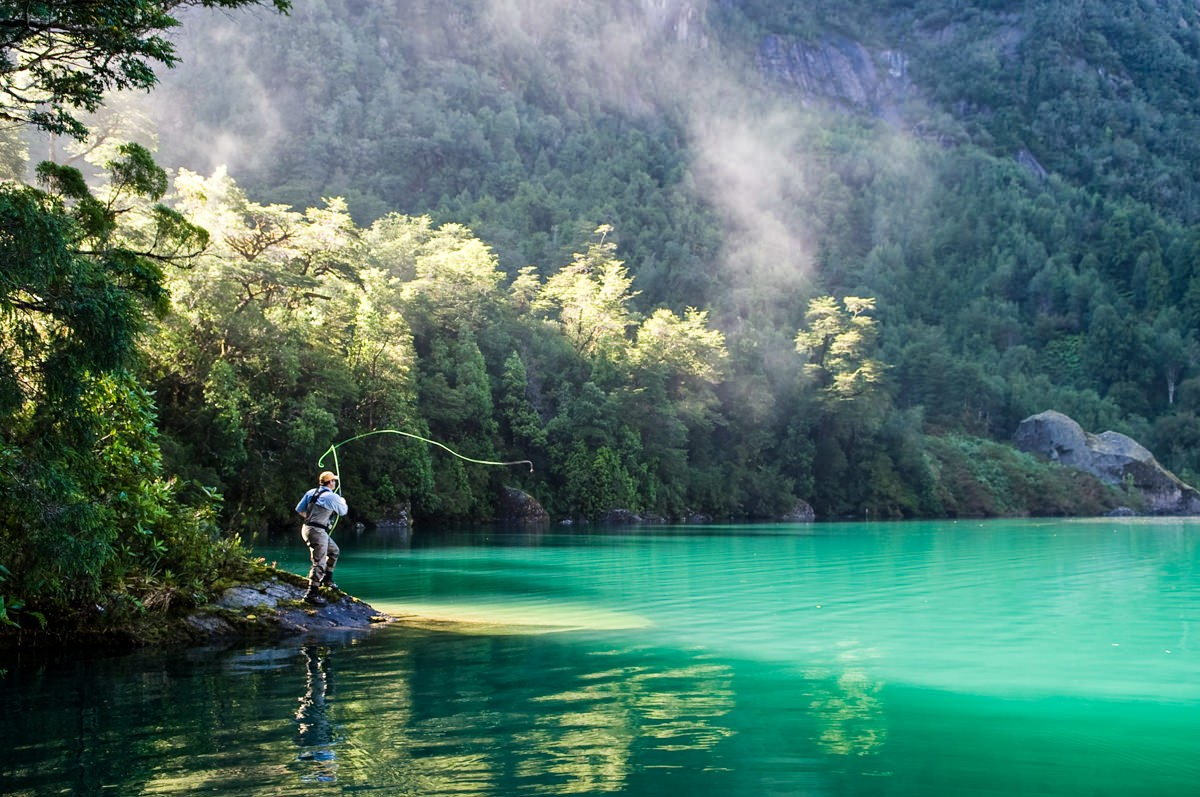Cruising the Chilean Fjords - Fly-Fishing