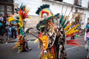 Sucre Parade, Bolivia, August