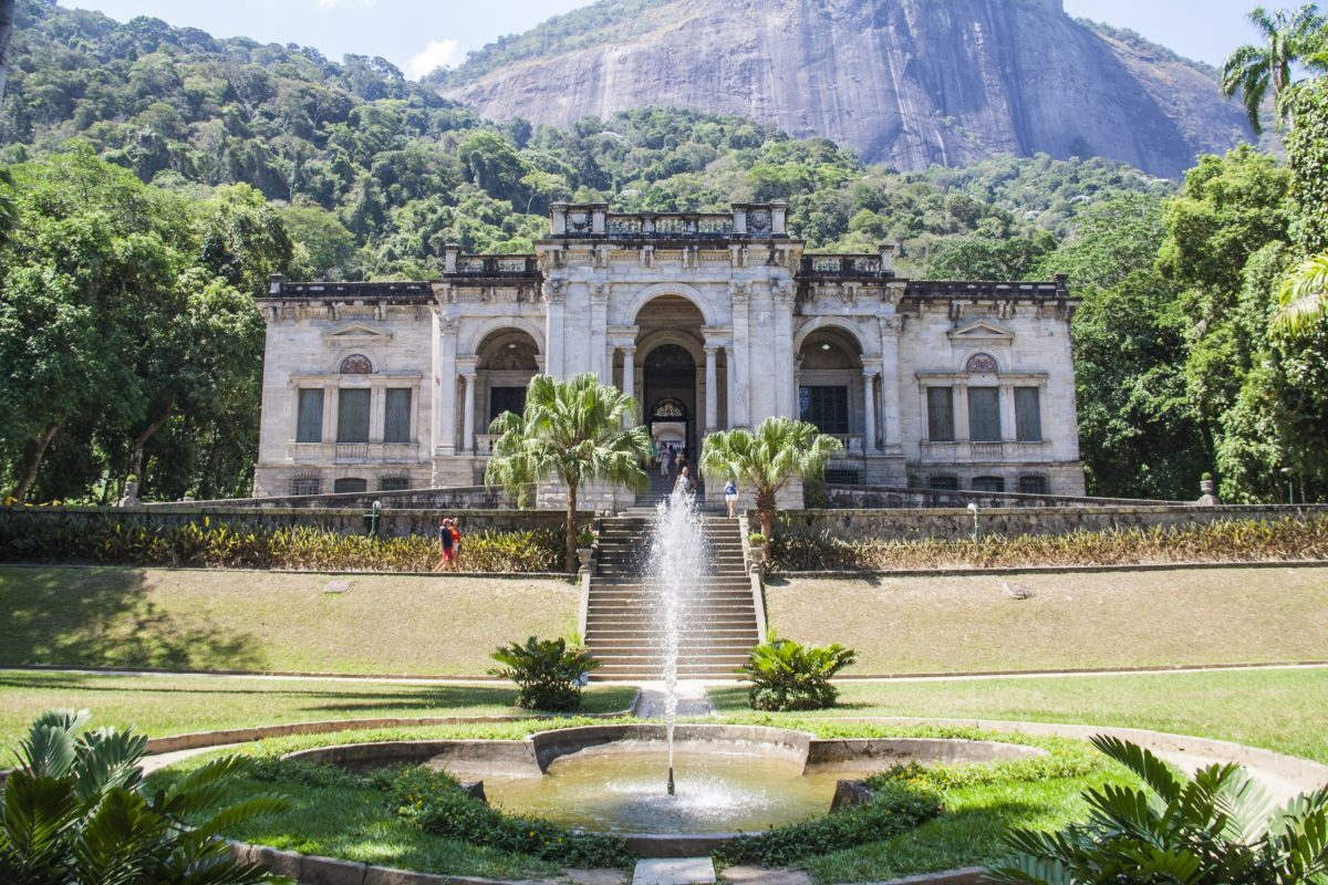 Parque Lage Brazil - Art Travel