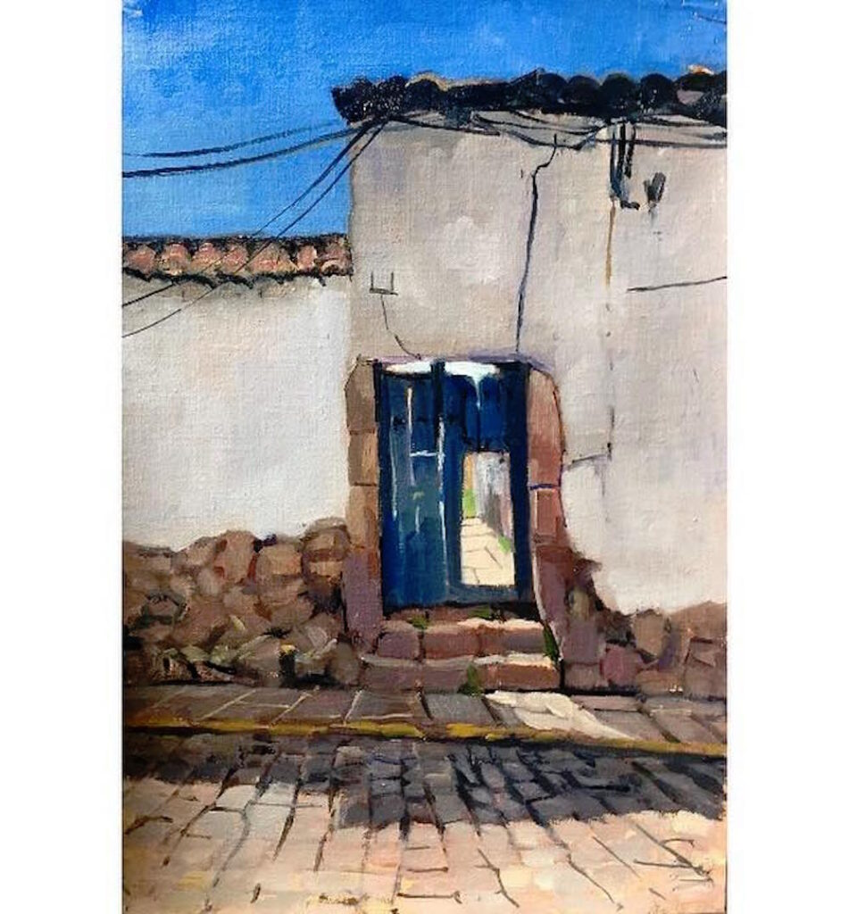 Alice Boggis-Rolfe Art - Cuzco Door