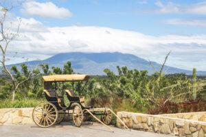 Nekupe, Nicaragua - View to Mombacho Volcano