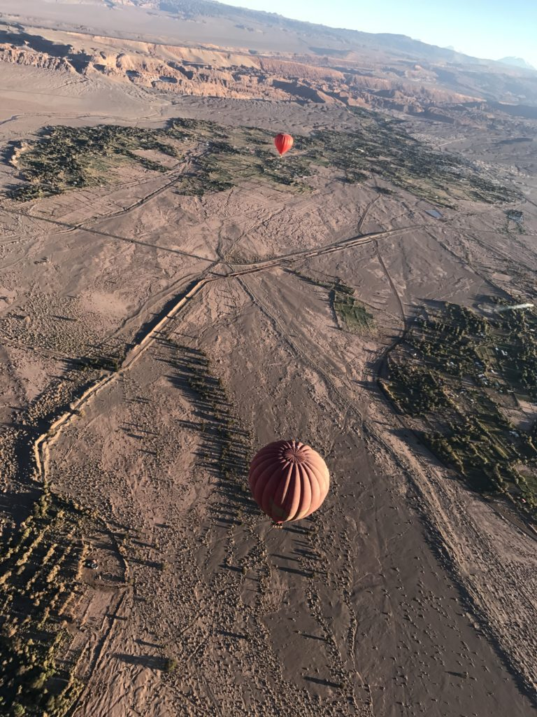 Hot Air Balloon Ride Atacama Desert