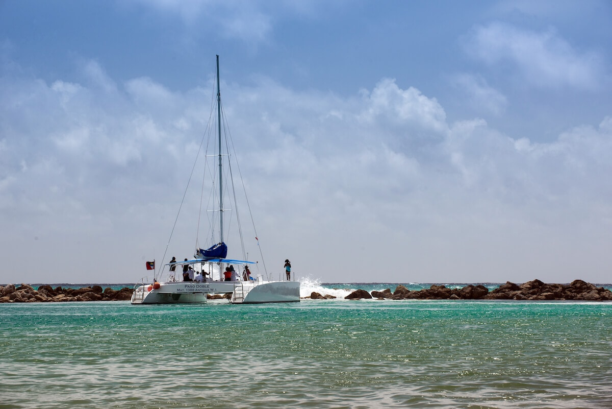 Catamaran trip, Riviera Maya, Mexico