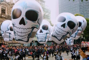 Dia de los Muertos - Mexico City parade