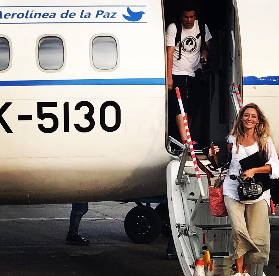 Kate Horne in Colombia