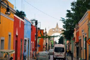 Merida Street, Mexico