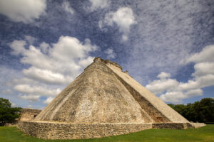 Uxmal Pyramid, Yucatan Peninsula, Mexico