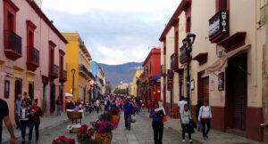 Calle Macedonio, Oaxaca, Mexico