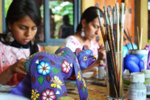Artists in Oaxaca, Mexico
