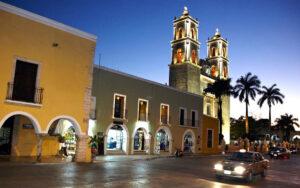 Valladoid Cathedral, Riviera Maya, Mexico