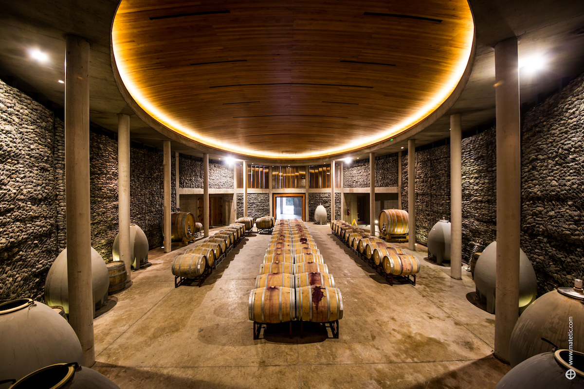 Matetic Bodega, Chile