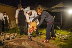 Sol y Luna Peru - Pachamanca Ritual