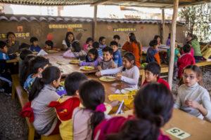 Sol y Luna Association Peru - School Lunch