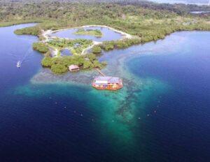 Sweet Bocas, Panama - Aerial View