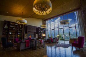 Uman Lodge, Chile - Sitting Room