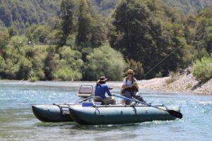 Uman Lodge, Chile - Fishing Raft