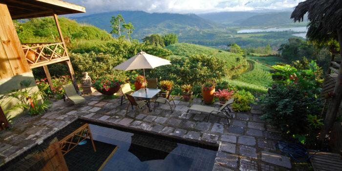 Hacienda Tayutic, Costa Rica - Pool View