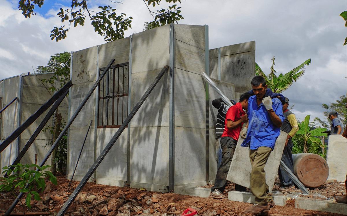 American Nicaraguan Foundation House Building