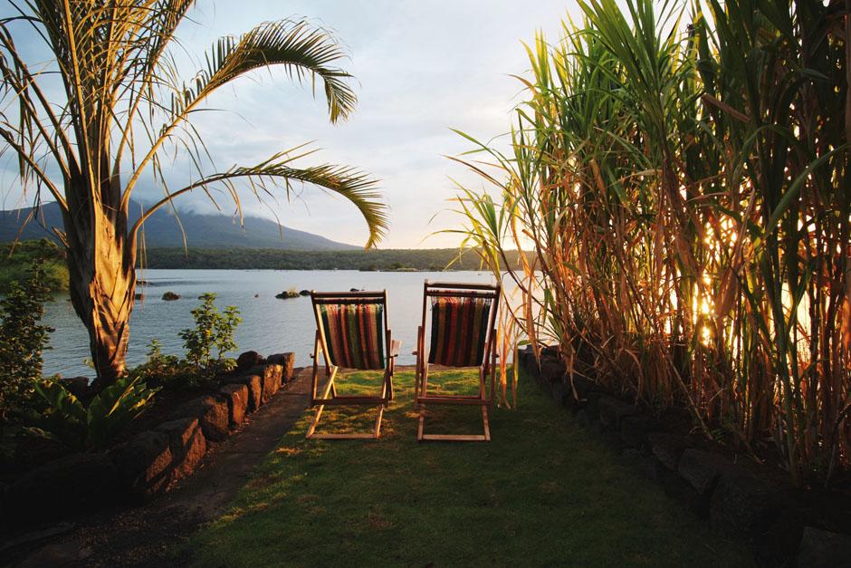 Private Island Nicaragua Isleta Beach Chairs
