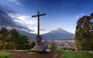 Antigua, Guatemala - Volcano View