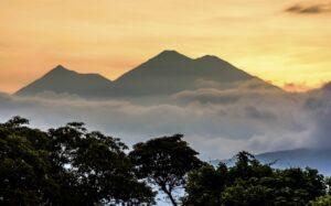 Antigua Guatemala - Volcano views