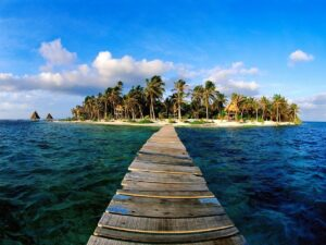 Belize Island Jetty
