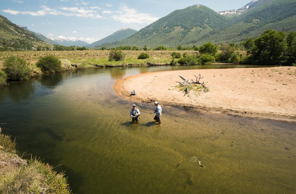 Caballadas Argentina Fishing Scenery