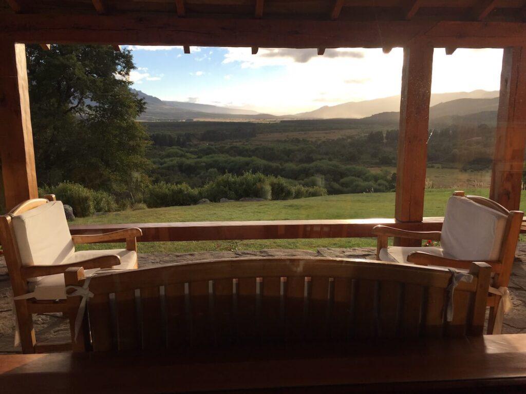 Caballadas, Argentina - Veranda Sunrise View