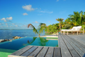 Cayo Espanto, Belize - Pool
