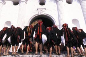 Chichicastenango Market, Mayan Priests, Guatemala