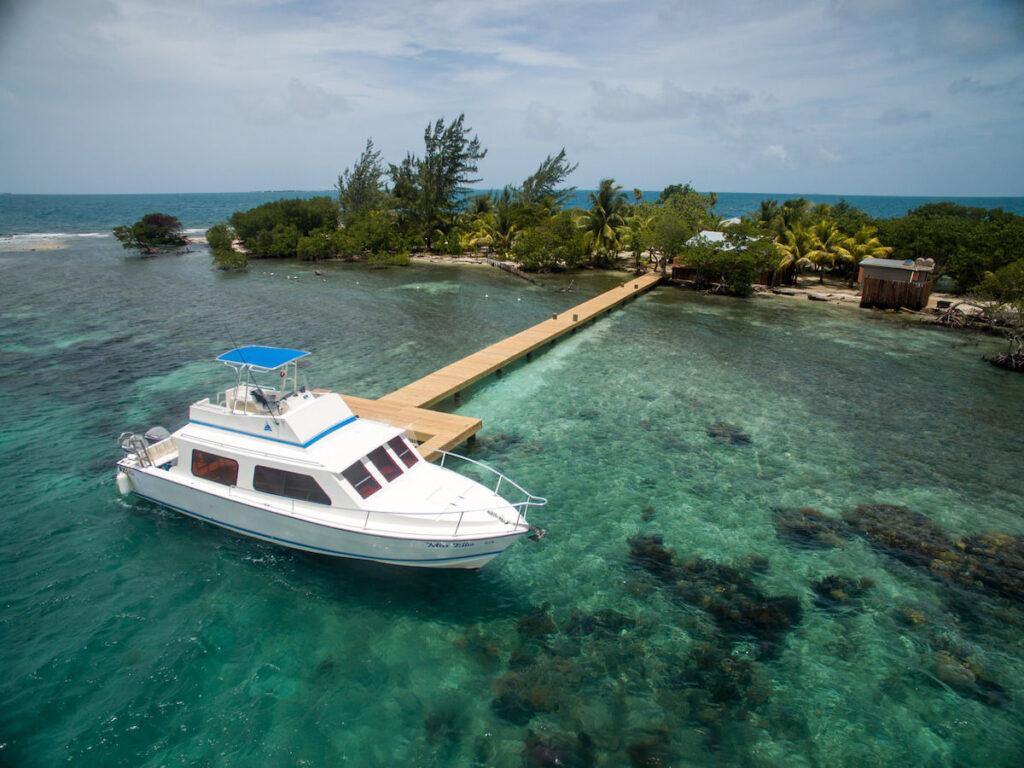 Coral Caye, Placencia, Belize - Boat Trip
