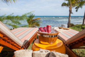 Coral Caye, Placencia, Belize - Lounge Chairs