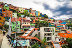Medellin Colourful Houses