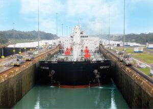 Panama Canal Ship