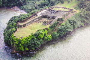 Panama Ruins Aerial View