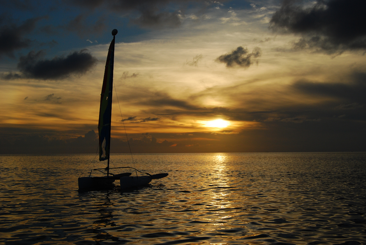Sunset Sail, Belize