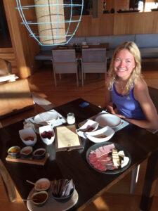 Venetia's Breakfast at Vira Vira
