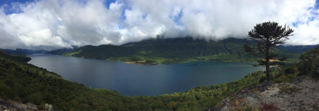 Lago Quillen, Caballadas, Argentina
