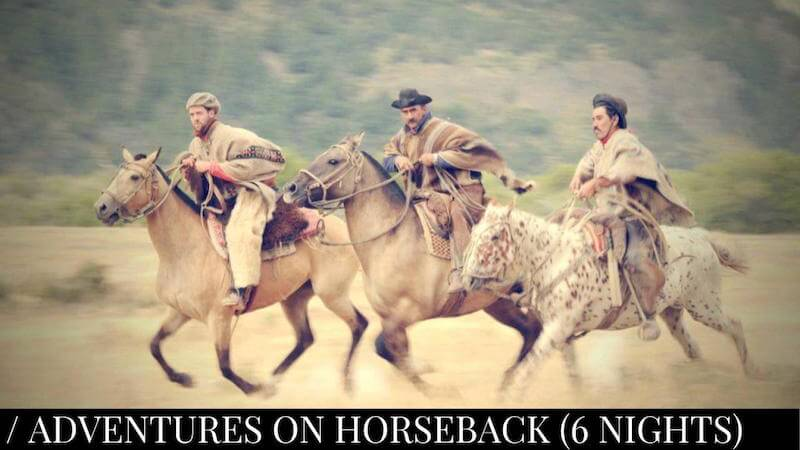 Adventures on horseback (Jakotango) 6 nights