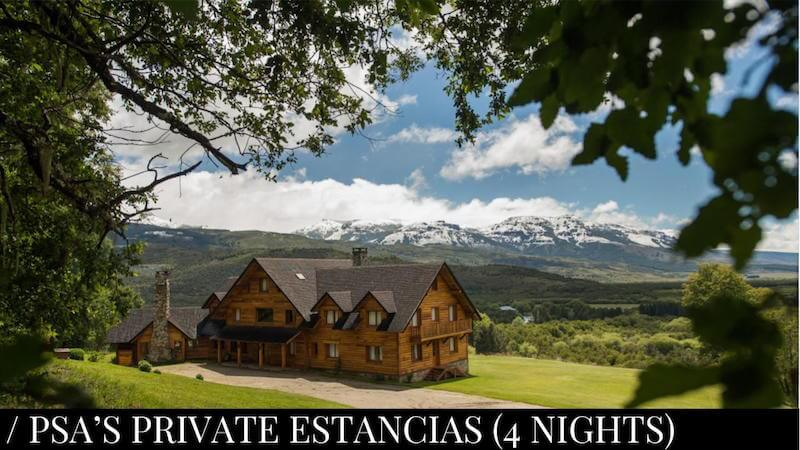 Private Estancias (Caballadas) 4 nights