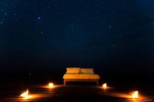 Cayo Espanto, Belize - Star Bed