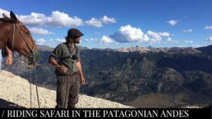 Riding Safari in Patagonian Andes - Jakotango