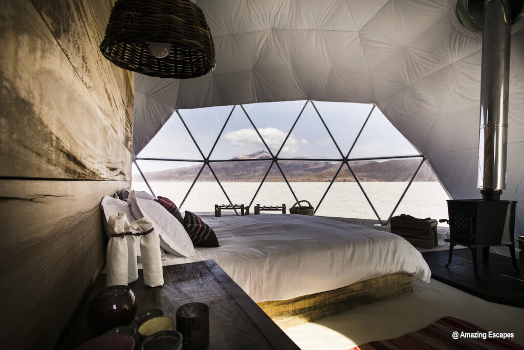 Bolivia Travesia Amazing Escapes Yurt Salt Flats