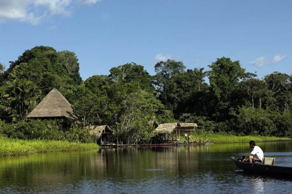 Village in the Brazilian Amazon