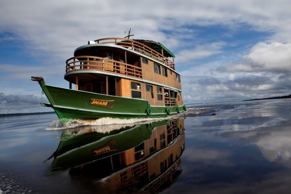 Brazilian Amazon River Cruise - Jacare, Rio Negro