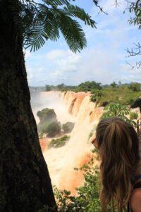 Kendall Overlooking Iguazu Falls